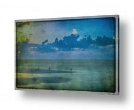 צילומים אורלי גור | שקיעה בחוף תל אביב