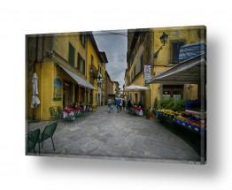 אירופה איטליה | רחוב בכפר באיטליה 1