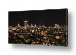 בתים גגות | תל אביב בלילה 1