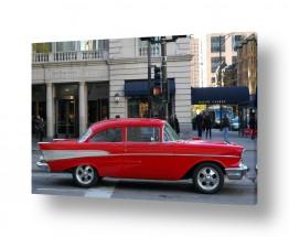 כלי רכב מכוניות | בל אייר אדומה