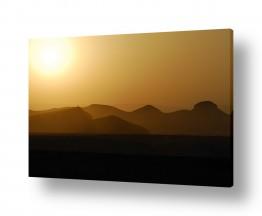 נוף זריחה | זריחה במדבר