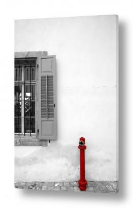 צילומים עירוני | כיבוי אש וחלון