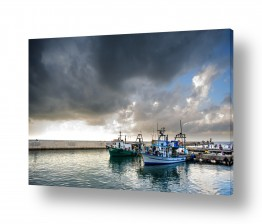 תמונות לפי נושאים דייגים | הסערה באה