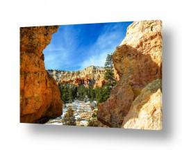 נופים וטבע הרים | ברייס קניון