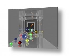 ציורים אמנות דיגיטלית | משחק בגולות