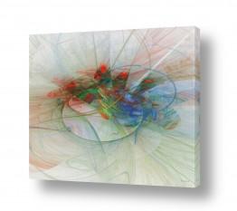 תמונות לסלון | זר פרחים
