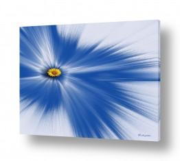 ציורים רעיה גרינברג | ליחה כחול