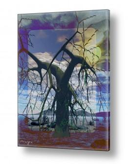 ציורים רעיה גרינברג | After the storm