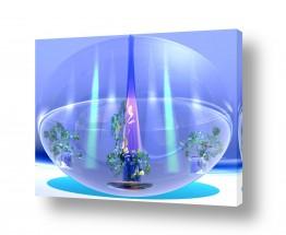 ציורים רעיה גרינברג | Aquarium