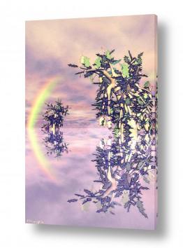 תמונות לפי נושאים דיגיטלי | The rainbow