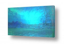 ציורים רעיה גרינברג | ים שמיים