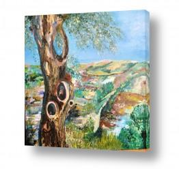 ציורים ציור | בדרך לירושלים