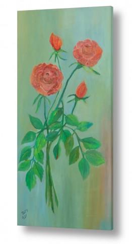 תמונות לפי נושאים זר | זר ורדים