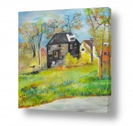נושאים נוף כפרי | בית