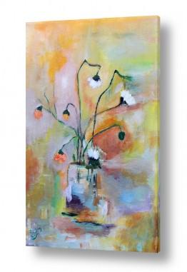 פרחים גבעולים | כד פרחים 2
