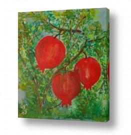 אוכל פירות | רימונים 1