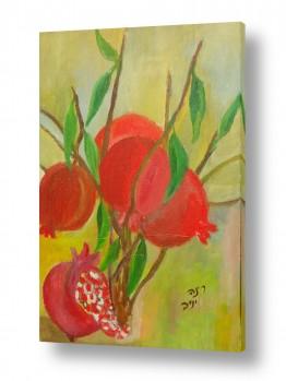 אמנים מפורסמים ציורים שנמכרו | רימונים 2