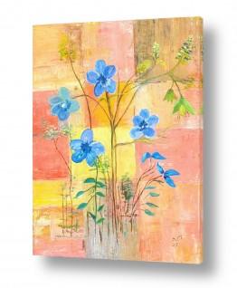 ציורים ציור | כד פרחים