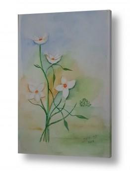 עלים ירוקים ירוק | זר פרחים
