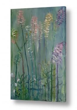 ציורים ציור | פרחי שדה