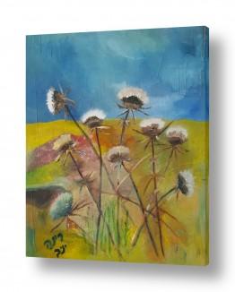 ציורים נופים וטבע | סוף הקיץ