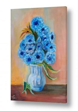 סגול סגול | זר פרחים