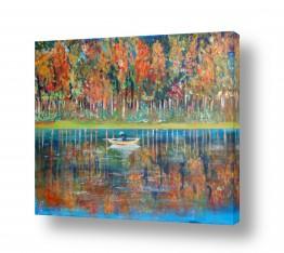 סגול סגול | שיט באגם המוזהב