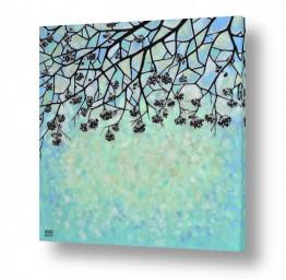 ציורים Marina Rolya | Winter pattern