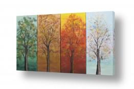 תמונות נבחרות ציורים ואמנות דיגיטלית | ארבע העונות