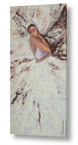 ציורים רוני רות פלמר | ריקוד הברבור