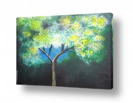 ציורים רוני רות פלמר   עץ הדעת
