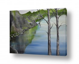 ציורים מים | אהבה בטבע