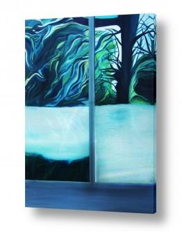 צמחים עץ | דרך החלון