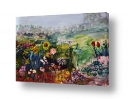 פרחים רקפת | פרחי בר