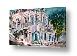 תמונות לפי נושאים צבעי אקריליק | הבית בנווה צדק