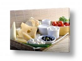 אוכל ארוחת בוקר | בוקר של גבינות