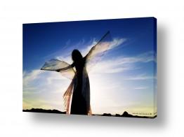 תמונות לפי נושאים חלום | רקדנית בשקיעה2