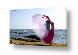 נוף חול | רקדנית במכמורת