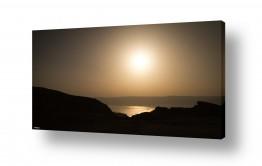 ימים ואגמים בישראל ים המלח | מפרץ שמש