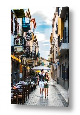 צילומים תמונות של אנשים | זוג ברחוב