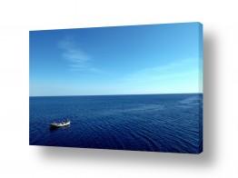 כלי שייט סירה | סירה בים שקט