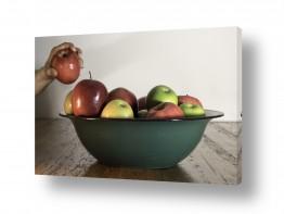 טבע דומם סלסלה | התפוח