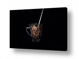 צילומים אוכל | קפה שחור
