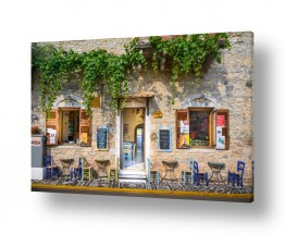 צילומים מבנים וביניינים | בית קפה