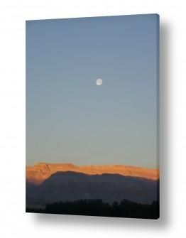 אסטרונומיה ירח | זריחה במדבר