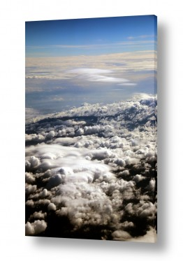תמונות לפי נושאים צילום אוויר | עננים ואופק