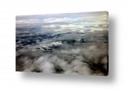 תמונות לפי נושאים צילום אוויר | עננים בצבעים