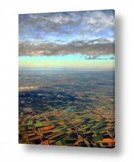 תמונות לפי נושאים צילום אוויר | שדות תיאלנד