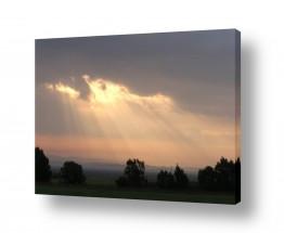 תמונות לפי נושאים בקיעה | בקיעה מבין ענן