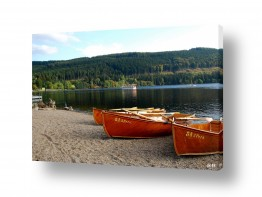 אירופה גרמניה | סירות באגם